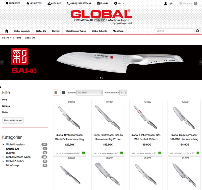 globalmesser.shop - Global Sai Messer